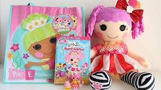 Build-A-Bear Lalaloopsy (Peanut Big Top), Crumbs Sugar Cookie Lalaloopsy Minis + Lalaloopsy Movie