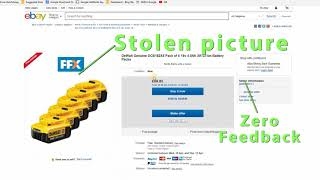 Beware the ebay scammers
