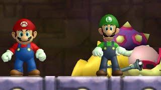 Deluxe Super Mario Bros. Wii - 2 Co-op - Walkthrough - #05