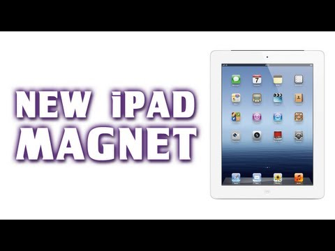 Use Your New iPad as a Refrigerator Magnet... No... Seriously