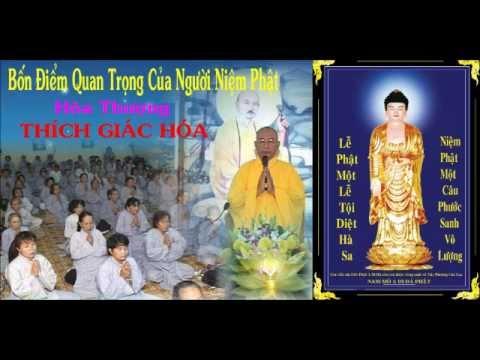 Bốn Điểm Quan Trọng Của Người Niệm Phật