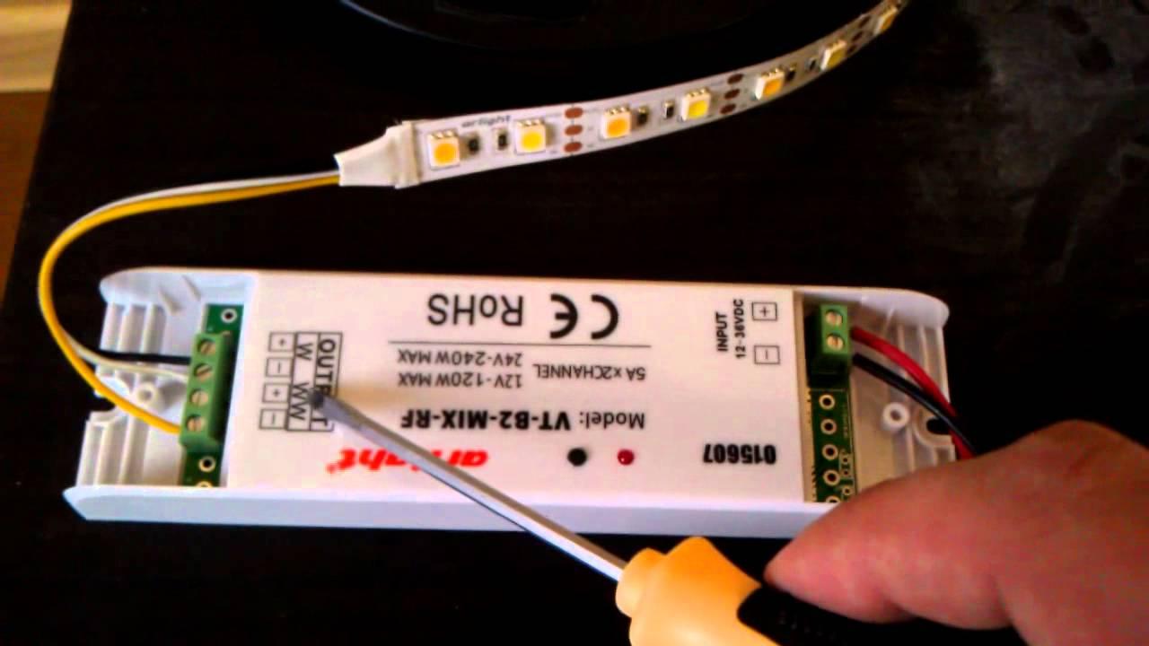 Музыкальный контроллер для светодиодной ленты своими руками