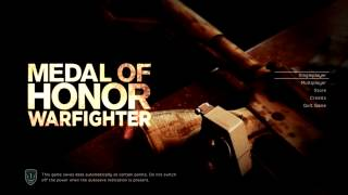 Medal of Honor Warfighter 100% Save