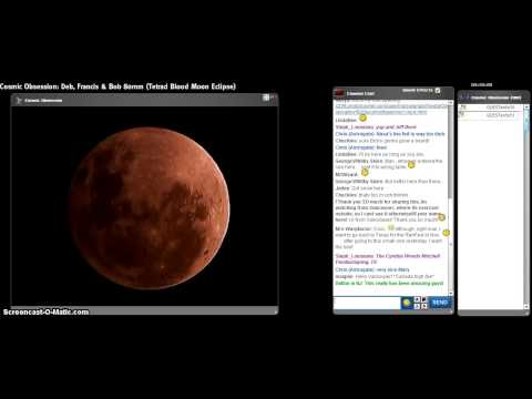 Tetrad Blood Moon Eclipse Pt8 Cosmic Obsession Observatory