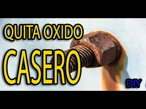 Quita oxido casero by santy youtube for Como quitar el oxido de la banera