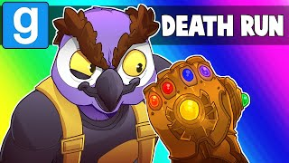 Gmod Death Run Funny Moments - Filming Marvel Avengers 4!