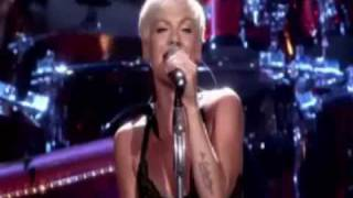 Клип Pink - Please Don't Leave Me (live)