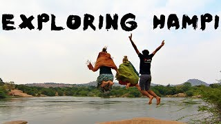 EXPLORING THE DIFFERENT HAMPI WITH GERMANS - Things to do in Hampi