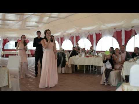 Песенные поздравления на свадьбу-видео