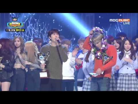 141126 圭賢 Kyuhyun 규현 - At Gwanghwamun 4TH WIN + ENCORE