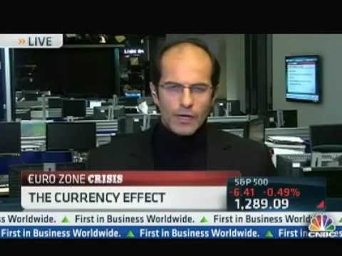 Ashraf Laidi's 2012 Euro Preview on CNBC Chart