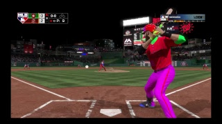 Mlb show 18 diamond dynasty with Nick and the god squad game 3