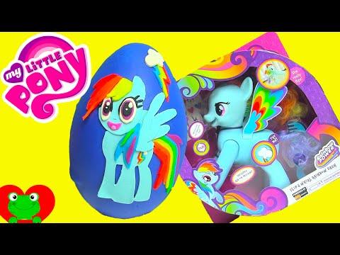 My Little Pony Rainbow Dash Play Doh Surprise Egg Mlp Surprises video