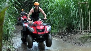 Quad bike tour is the most favorite tourist attraction in Bali