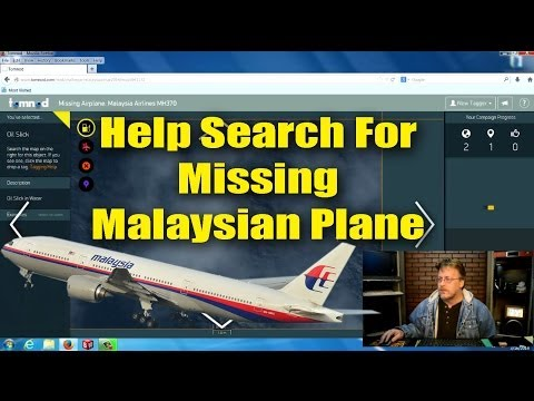 Help Officials Locate Missing Malaysian Plane Using Computer