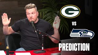 Pat McAfee's Packers / Seahawks Prediction