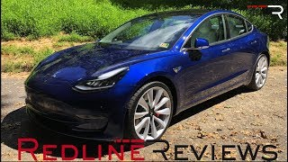 2018 Tesla Model 3 Performance – Stupid Fast Electric Car Is [Finally] HERE!