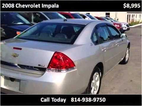 2008 Chevrolet Impala Used Cars Punxsutawney PA