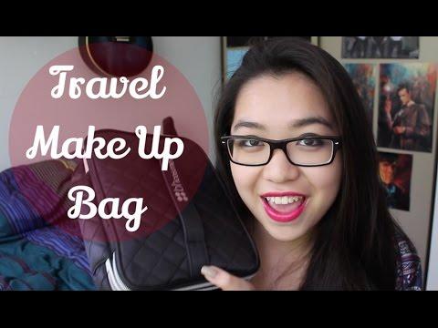 Travel Makeup Bag Essentials! | iamdazale