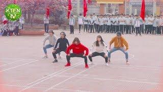 "Em áo đỏ nhảy ""chất"" quá - Dancer trường người ta | KTENtv ✔"