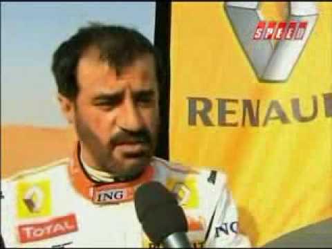 Ben Sulayem interview on Renault F1 Crash Dubai Autodrome