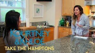 Kourtney Kardashian Rips Sisters for Alcohol Mishap | Kourtney & Khloe Take the Hamptons | E!