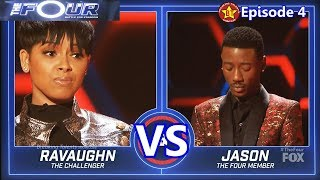 Ravaughn vs Jason Warrior with Results  Comments The Four S01E04 Ep 4
