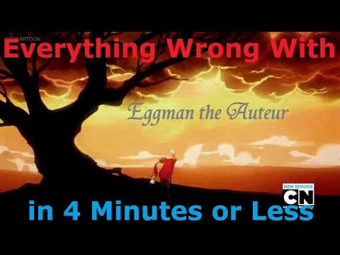 (Parody) Everything Wrong With Sonic Boom - Eggman the Auteur in 4 Minutes or Less