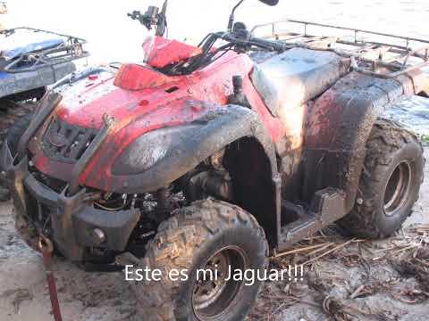 Cuatri Zanella GForce 250/Jaguar 250 ATV  Las Tejas  - ClubZanellaGForce250 y sus Amigos 14/7/2012