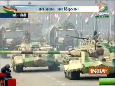 India's military might showcased at Republic Day parade, Part 3