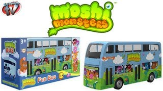 Moshi Monsters Fun Bus Toy Review, Corgi