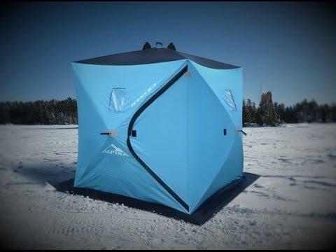 Зимняя  складная палатка на рыбалку, своими руками!!!
