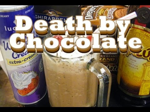 Death by Chocolate Drink Recipe – Valentines Day Cocktails – theFNDC.com