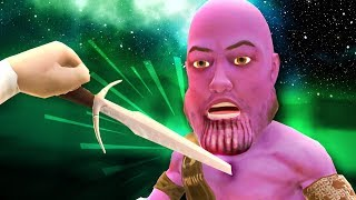 CAN THANOS BE KILLED!? - Blade and Sorcery MODS - HTC Vive Pro Gameplay