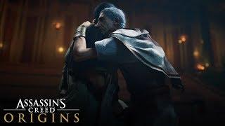 Assassin's Creed Origins - Ceaser's Death Scene (The Assassination of Julius Caesar)