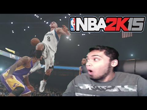 NBA 2k15 PS4 Gameplay FaceCam! Minnesota Timberwolves vs LA Lakers | Zach LaVine Is NOT HUMAN!