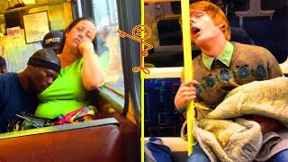 Hilarious Times People Were Caught Sleeping ✅ 「 funny photos 」
