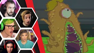 Let's Players Reaction To The Principal Turning Into A Giant Monster | Kindergarten 2
