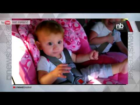 Baby Goes Crazy Over Gangnam Style | Newsbreaker | Ora Tv video