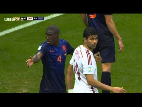World Cup Brazil 2014 Spain vs Netherland Full Match (HD)
