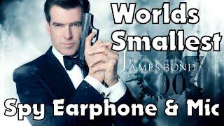 World's Smallest Earphone & Mic Set in Nepali