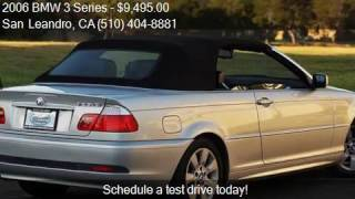 2006 BMW 3 Series 325Ci 2dr Convertible for sale in San Lean