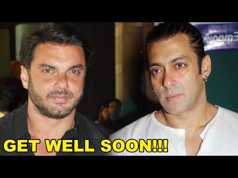 Sohail Khan Wishes Salman Khan Get Well Soon