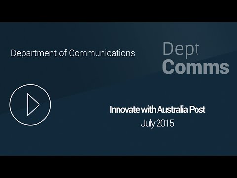 #psinnovate15: Australia Post Head of Emerging Technology and Platforms, Duc Do, Presentation