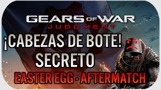 Gears Of War Judgment: Easter Egg - ¡Cabezas de Cubeta!