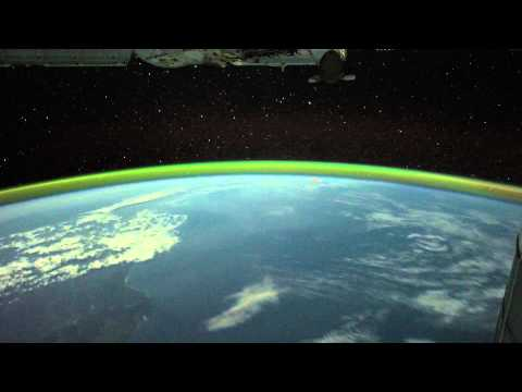 Southern Lights & Australian Wildfires from Space