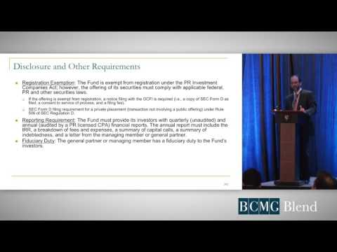 Act 185: Private Equity Funds