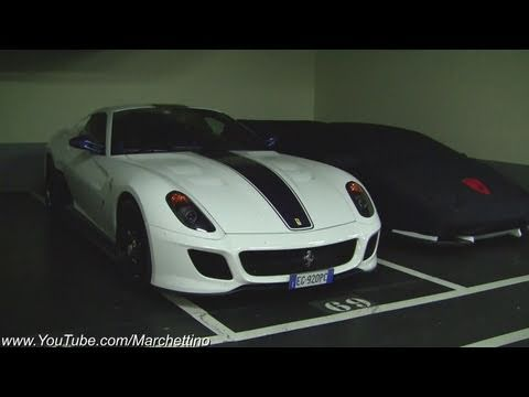 Incredible Supercars Garage – Enzo, F50, F40, 599 GTO & More