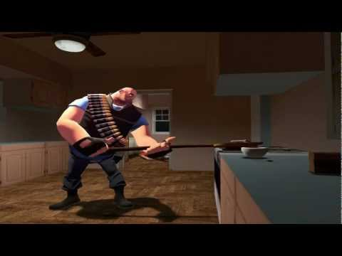 Team Fortress 2: Moments with Heavy - French Toast