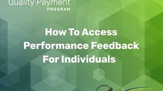 How To Access Performance Feedback For Individuals